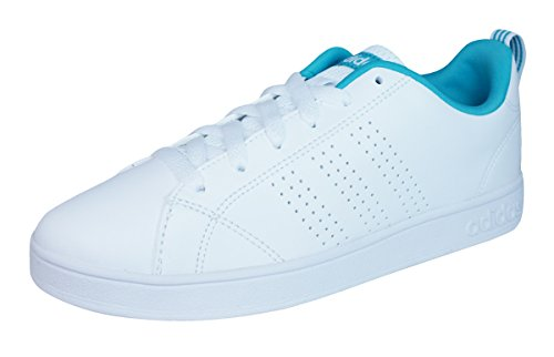 564128010 adidas Women s Shoes Cloudfoam Advantage Clean Sneakers Grey One ...