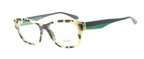Prada Voice Eyeglasses PR24RV KAD1O1 White Havana 52 16 140