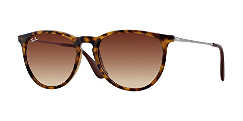 Ray Ban RB4171 ERIKA 865/13 54M Rubber Havana/Brown Gradient Sunglasses For ()