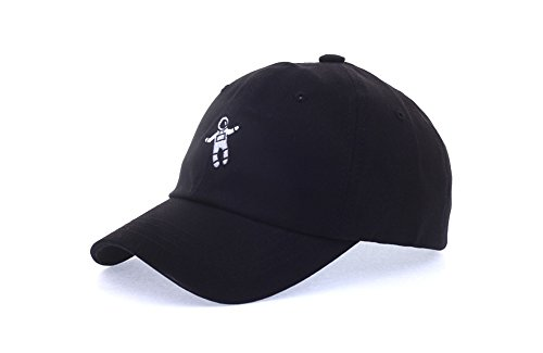 aa41d3adb75 Exo Style Xiu Astronaut Baseball Caps Hats Accessories Unisex Mens Womens  Kpop (Black)