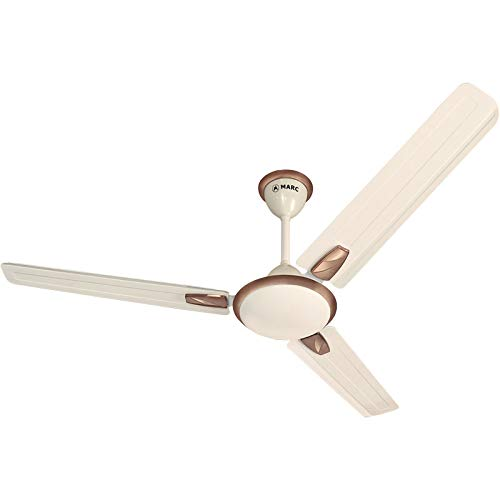 Marc Bonita I Designer I 48 inch I Ceiling Fan – Birken-Ivory