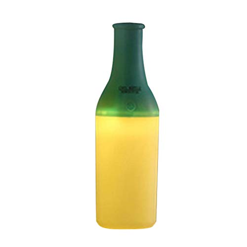 Self Cleaning Dual Fan - Hot Sale!DEESEE(TM)USB Portable Mini Wine Bottle Humidifier Air Diffuser Aroma Mist (Green)