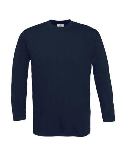 Langarm T-Shirt 'Exact 190' XL,Navy