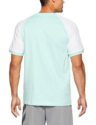 Adidas Clear Mint shirt stripes F18 T Uomo 3 rMF6Or