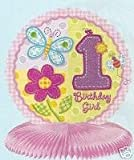 Hugs and Stitches Girl Honeycomb Centerpiece