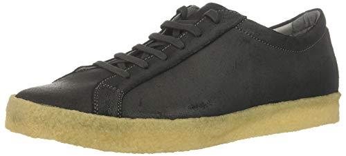 TCG Men Navajo Crepe Low Top Sneaker White Color Rubber Sole, Indigo 43 Regular EU (10 US) ()