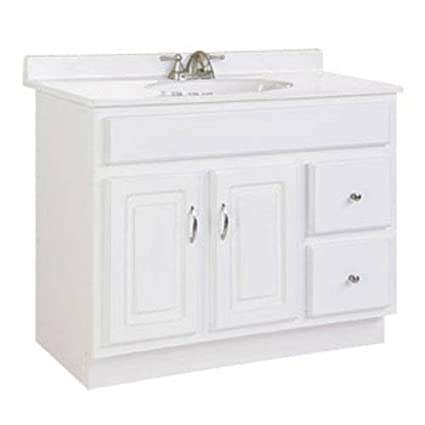 Wonderful Design House 541052 Concord Ready To Assemble 2 Door/2 Drawer Vanity,