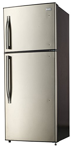 - Avanti FF138G3S 13.8 CF Frost Free Refrigerator, Stainless Steel