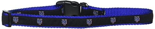 New York Mets Dog Collar - Sporty K9 MLB New York Mets Dog Collar, Large