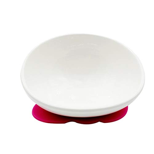 - Novelty Pet Feeder Ceramic White Bulldog Bowl Set with Dining Table Non-Slip