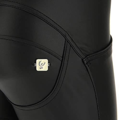 Freddy pelle Bassa Lungo Pantalone Eco Wr A Vita up® Nero gpg61qyw