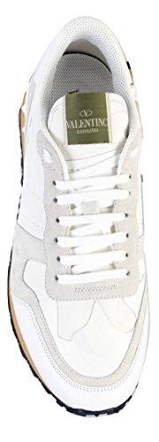 Rockrunner Camouflage Scarpe Garavani Valentino Sneaker Bianco 0bo Uomo Ny2s0723tcc