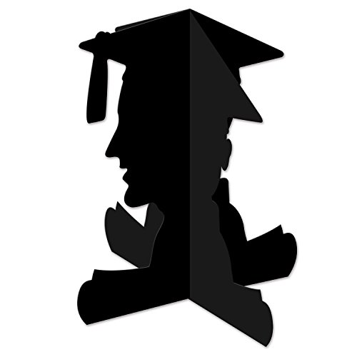 Beistle 3D Boy Graduate Centerpiece, 10.75
