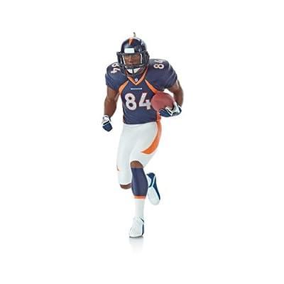 1 X Shannon Sharp Denver - Denver Broncos 2013 Hallmark Ornament