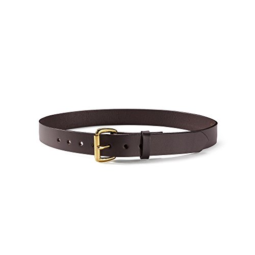 Filson 1 1/4 Inch Leather Belt - Brown - 32 Inches (Filson Leather Belt compare prices)