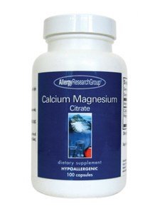 (Allergy Research Group - Calcium Magnesium Citrate - 100 [Health and Beauty] )