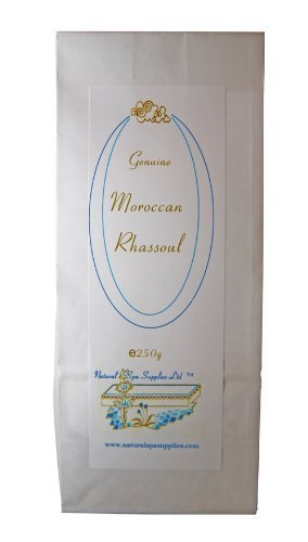 Rhassoul, Ghassoul Moroccan Mineral Clay, 250g Natural Spa Supplies Ltd RC250