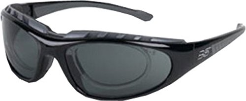 glasses, Black Frame, Smoke w/ RX Insert Lens, ZAPPA-RX BLACK (Body Specs Black Sunglasses)