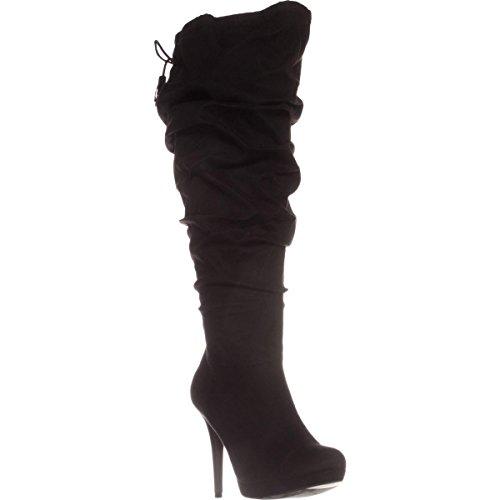 Closed Boots Womens Thalia Sodi Black Brisa Knee Toe High Fashion pagxTqwP