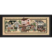 Dimension Cntd Cross Stitch Kit-Country Heartland (Kit Cntd Cross Stitch)