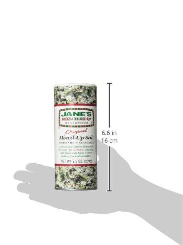 Jane's Krazy Seasonings Mixed Up Salt, 9.5 Ounce (Pack of 12) by Jane's Krazy Seasonings (Image #5)