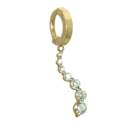 TUMMYTOYS BELLY NAVEL RING 14K GOLD 1CT JOURNEY DIAMOND made by TummyToys®. Our specialty is belly button rings but we are now making more jewelry to match so look for our pendants, earrings and other body jewelry on Amazon. We make sexy jewelry that looks beautiful.