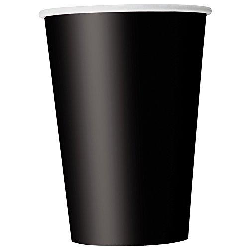 12oz Black Paper Cups 25ct