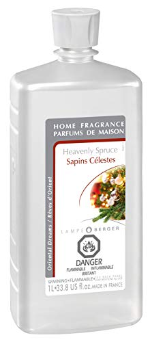 (Lampe Berger Fragrance Oil - Heavenly Spruce - 33.8 Ounce with FREE Funnel)