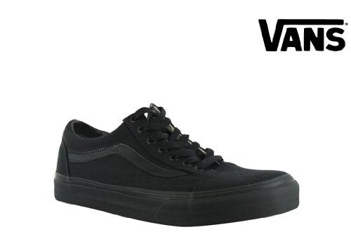 Vans Old Skool Skate Shoe Size 11 Black/Black (Old School Vans Shoes compare prices)
