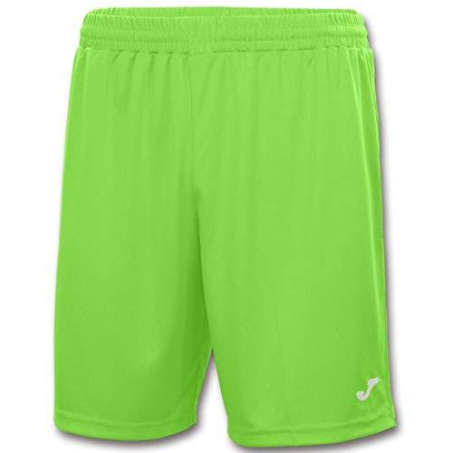 Pantalón corto deportivo para hombre de color neón