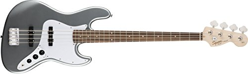 Jazz Tuners Fender Bass (Squier by Fender Affinity Series Jazz Bass - Laurel Fingerboard - Slick Silver)