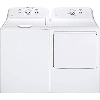 Amazon Com Ge Gtd65ebsjws 7 4 Cu Ft White Electric