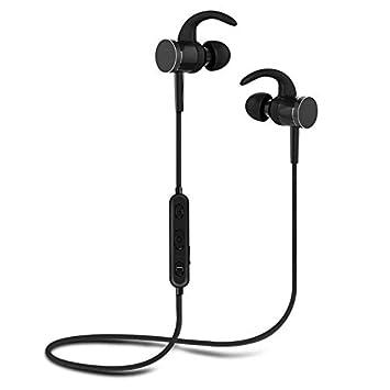 c57505af192 I-Sonite Noir S98 Wireless 5.0 Bluetooth Headphones Earphones Ecouteurs  Intra-Auriculaires magnétiques avec