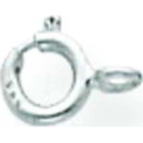 14K White Gold Spring Ring Clasp ()