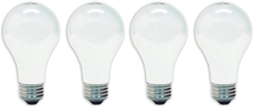 Buy now GE Lamps 41032 75-Watt A19, Soft White, 4-Pack Style: Soft White