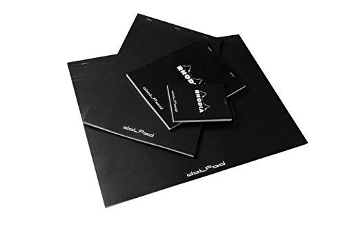 Rhodia Black Dot Pad Nº 19, 8.3 x 12.5