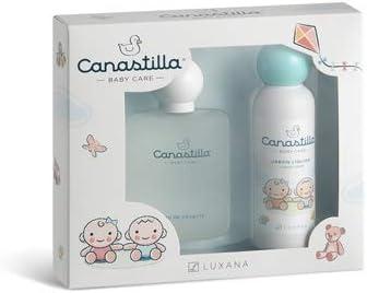 Estuche para el bebe de colonia 100ml, jabón liquido 150ml sin alcohol Canastilla: Amazon.es: Bebé