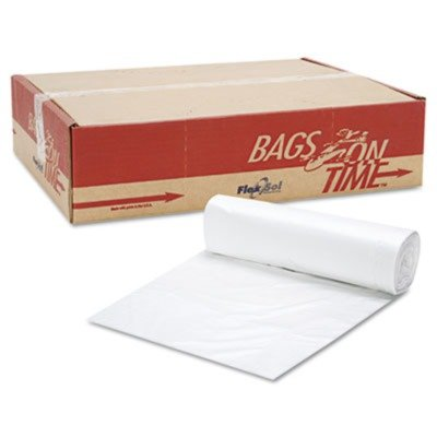 Essexamp;reg; - Can Liner Hi-D Rolls, 40 x 48, 250/Carton, Clear - Sold As 1 Carton - Durable, high density plastic liners stand up to rips and tears.