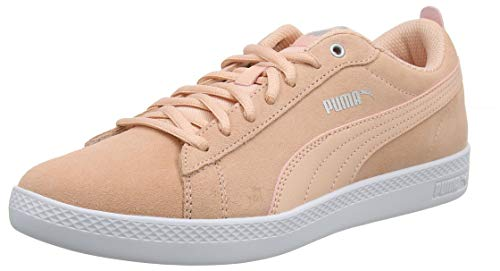 Zapatillas puma Smash peach V2 Bud White Rosa silver Mujer Wns Para Sd Puma qAPxICawCO
