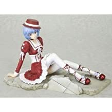 Evangelion: Rei Ayanami Goth Loli (noir) Crimson Version, Rouge Red Dress