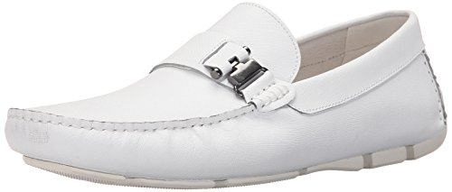 York New Theme Kenneth Men's Cole White Loafer Slip On in wFvxEq