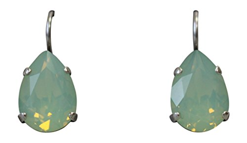 Mariana Pacific Opaque Teardrop Swarovski Crystal Drop Earrings 294 ()