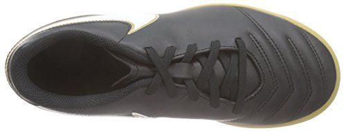 Nike JR Tiempo Rio Iii IC, Botas de Fútbol para Niños Negro (Black/white)