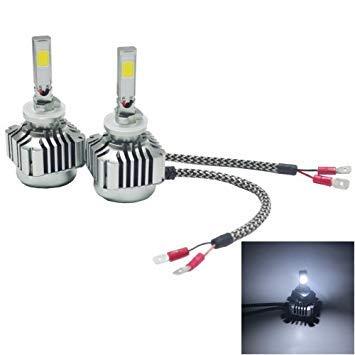 Uniqus 2 PCS WEIYAO V8 880 36W 4800LM 6000K White Light Car 2 COB LEDs Headlight Kit, DC 12-24V