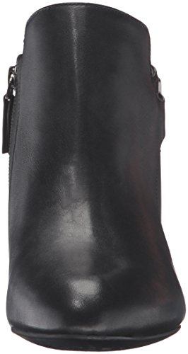 Bootie Leather Easy Women's Black Black Ankle Spirit Tatiana BwOI6qC