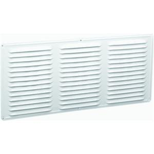 Air Vent 84200 16x8 Undereave Vent, White