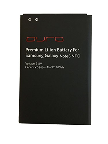 Premium Li Battery Ion (Samsung Galaxy Note3 Premium Li-ion Battery by DURA Innovation Inc.)