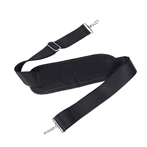 AIEVE Shoulder Strap,Adjustable Cooler Shoulder Strap Replacement for YETI Hopper Flip Portable Cooler,Shoulder Bag Strap Replacement with Shoulder Strap Pad and Metal Hook - Hopper Flip