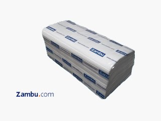 Toalla Secamanos plegada en Z Pasta Virgen 1 capa AVANT (Caja de 20 paquetes)