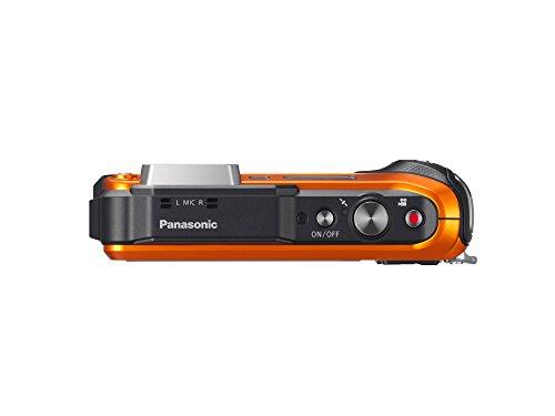 Panasonic DMC-TS6D LUMIX WiFi Enabled Tough Adventure Camera (Orange)